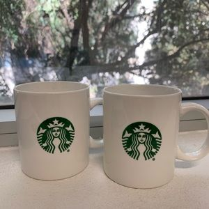 Starbucks Mermaid Logo Coffee Mug Set